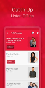 Heart Radio App Screenshot
