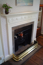 Photo: Fireplace in the Dining Parlor