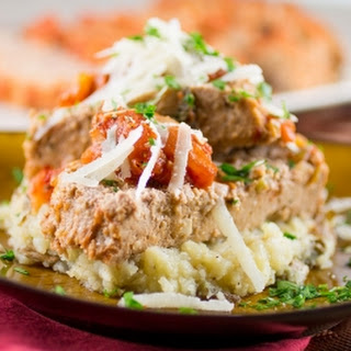 Italian Style Ground Turkey Meatloaf.