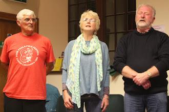 Photo: John, Denise and Barrie