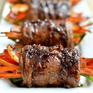 Rolled Beef with Vegetables (Bò Cuộn Rau Củ)