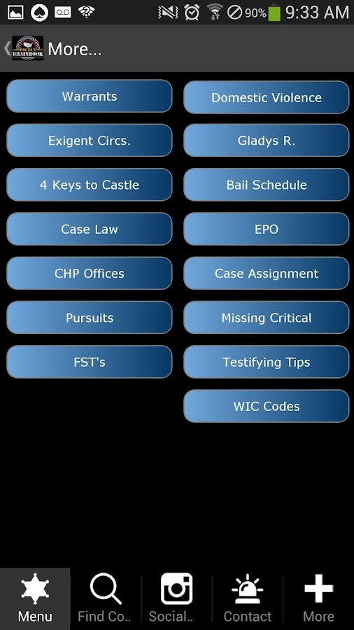 LASD -  Pocket Brainbook- screenshot