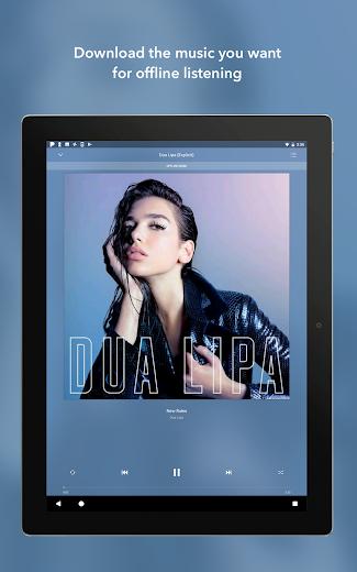 Screenshot 9 for Pandora's Android app'