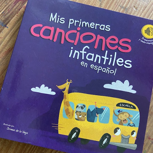 Spanish Song Books with Sound
