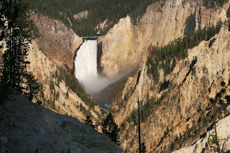 Photo: The Grand Canyon of the Yellowstone