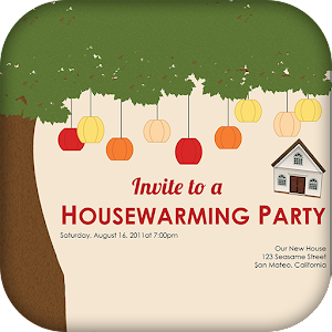 Housewarming invitation card maker android apps on google play housewarming invitation card maker stopboris Choice Image