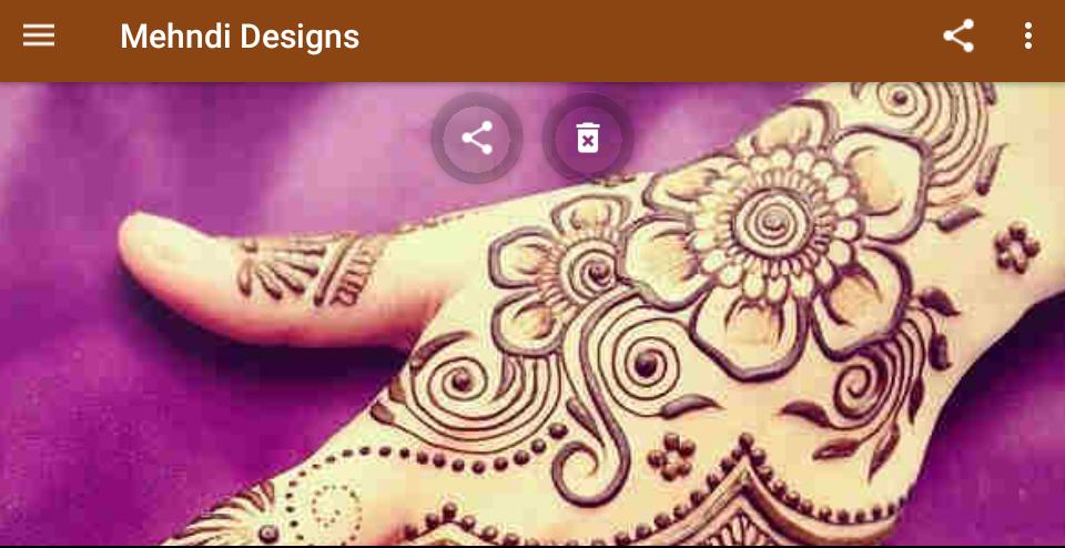 Mehndi Designs (offline) screenshot 8
