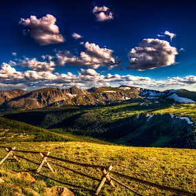 Fences by Colin Gallagher - Landscapes Mountains & Hills