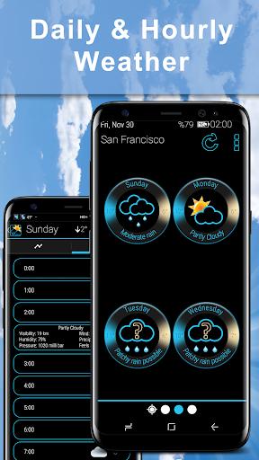 Weather Rise Clock 30+ Widgets 4.2.2 screenshots 6