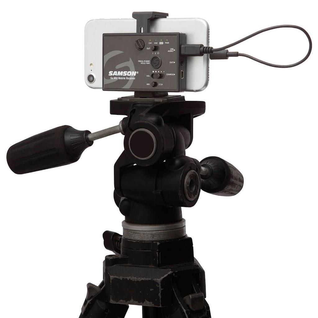 Samson Go Mic Mobile Draadloze dasspeldmicrofoon