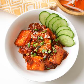 Korean Braised Tofu