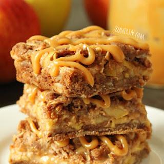 Dulce de Leche Apple Streusel Bars