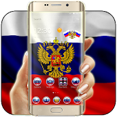 Russian National Flag Day Theme