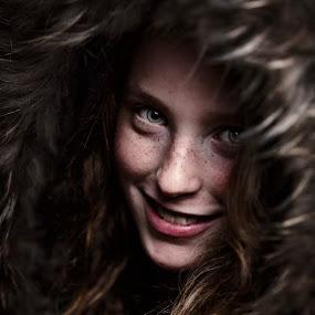 hide by Christoph Reiter - People Portraits of Women ( fell, julia )