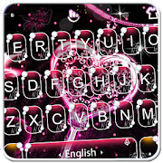 App Live 3D Pink Diamond Heart Keyboard Theme APK for Windows Phone
