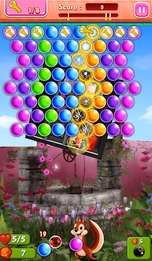 Hidden Bubbles: Spring Garden