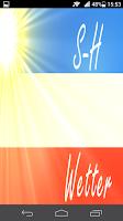 Screenshot of S-H Wetter