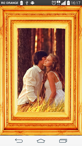 Gold layers Photo Frames