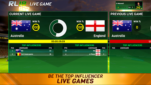 Rugby League 18 1.2.0.47 screenshots 15