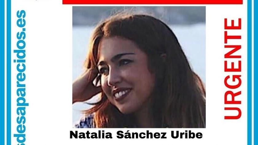 Detalle de la alerta sobre Natalia Sánchez Uribe, ya desactivada.