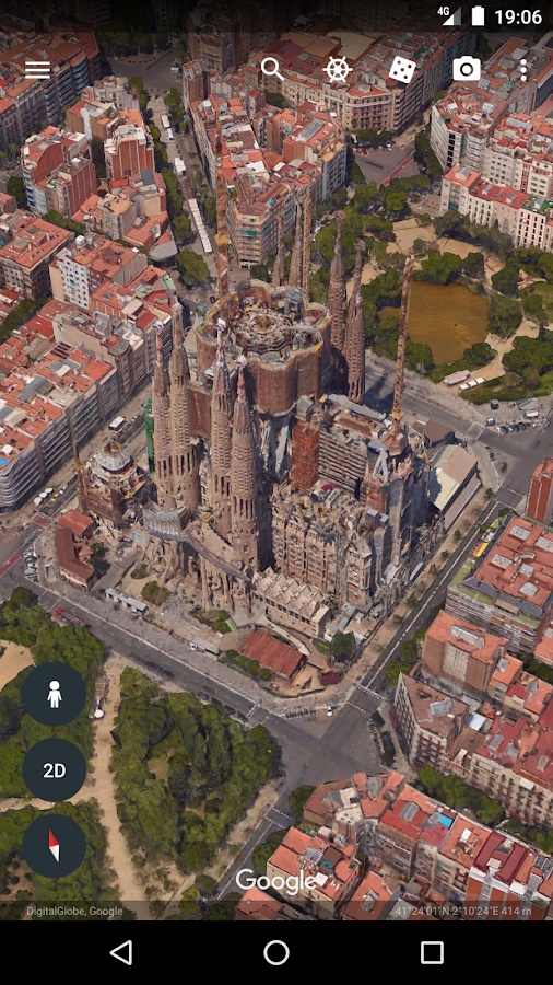 Google Earth- screenshot