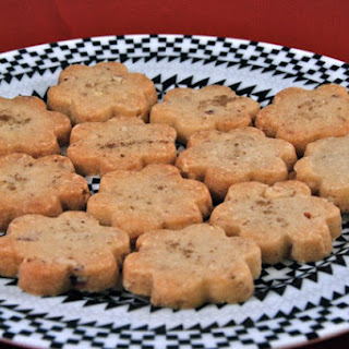 Smoked Sea Salt and Almond Shortbread