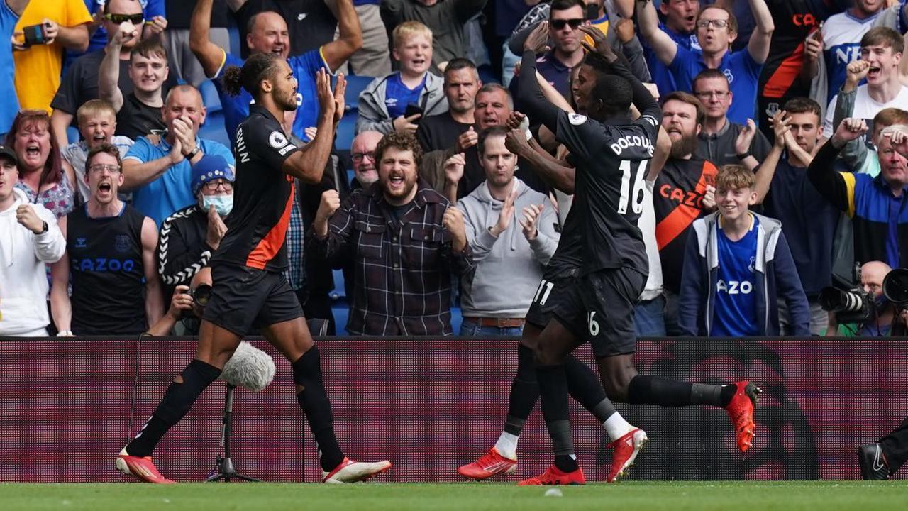 Everton đang thể hiện phong độ rất cao