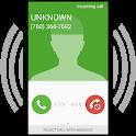 Fake call - prank icon