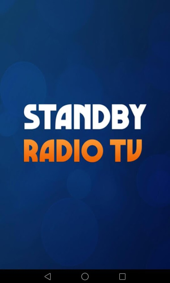 StandBy RTV- screenshot