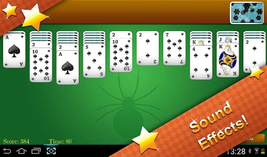 Classic Spider Solitaire- screenshot thumbnail