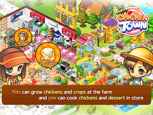 Happy Chicken Town (Farm & Restaurant)  screenshots EasyGameCheats.pro 2