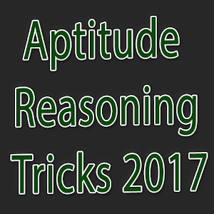 Aptitude Reasoing Tricks 2017