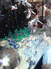 Photo: Another very complex Star Wars scene. Many kids - couldn't get close enough :-)