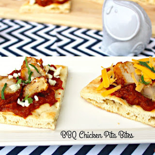 BBQ Chicken Pita Bites