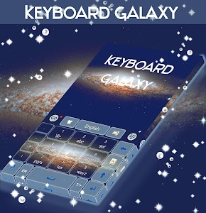 Keyboard Galaxy Theme screenshot 4