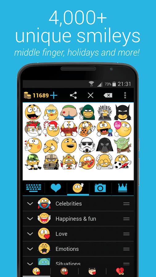 Emojidom: Chat Smileys & Emoji- screenshot