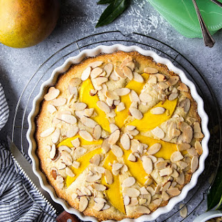 Tropical Mango Almond Cake.