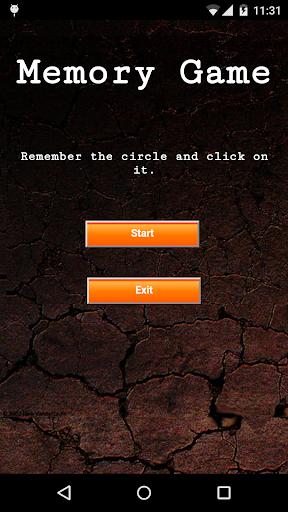 Memory Test Game