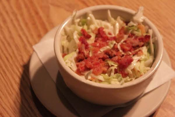 Hot Slaw With Bacon Recipe