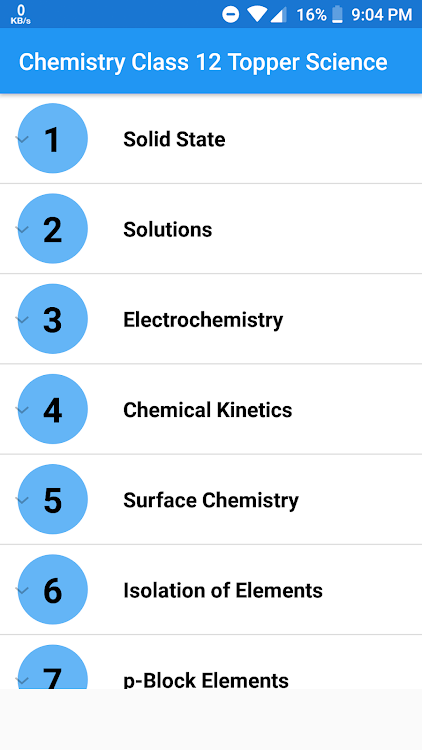 Chemistry Class 12 Notes Topper Science – (Android تطبيقات