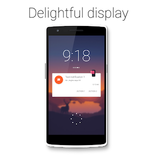 Notific : Lockscreen Notifications Screenshot