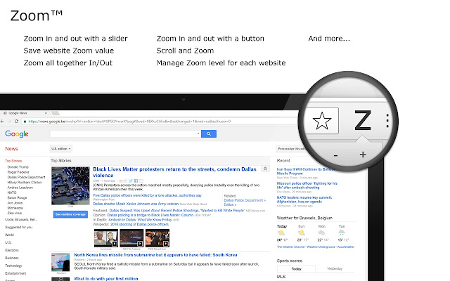 Zoom chrome extension