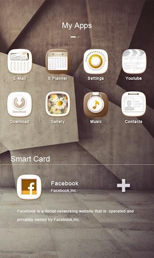 White Stone GO Launcher Theme v1.0 screenshots 4