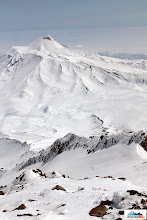 Photo: Avachinsky viewed from altitude over 3000 m on Koryaksky