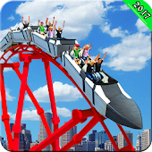 Roller Coaster 3D Game Sim - Crazy Roller Coaster