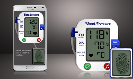Blood Pressure Scanner Prank screenshot