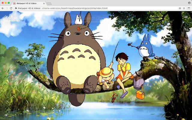 Studio Ghibli HD Anime Wallpaper New Tab