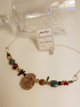 Photo: Unique Necklace from Pearbox Art  by artist Anne Anderson www.pearbox.com