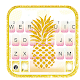 Golden Pineapple Keyboard Theme for PC-Windows 7,8,10 and Mac