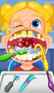 Crazy Children's Dentist Simulation Fun Adventure Ekran Görüntüsü